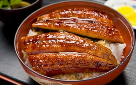 Esu-73 四万十うなぎカット2袋+極上米2kgうな丼セット