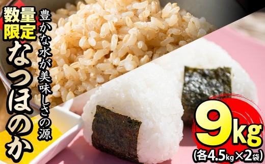 a3-056 【米の匠】川崎さん自慢のなつほのか白米&玄米