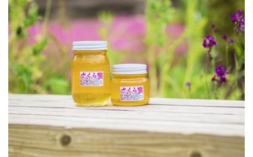 松崎町で採取した蜂蜜(桜の花の蜂蜜)300g