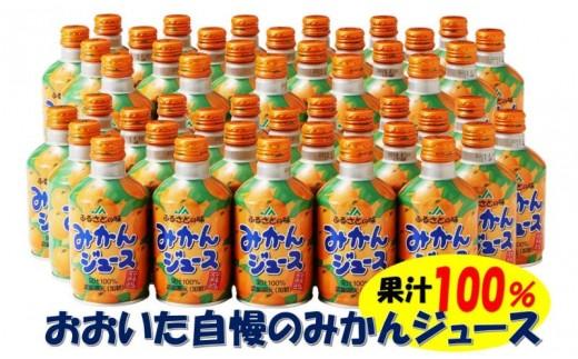 おおいた自慢の100%みかんジュース/280g×48本