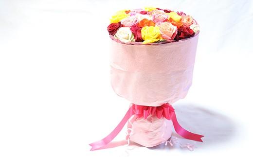 A-136 【産地直送】バラの花束 ミックス 30本 最高品質の薔薇を厳選 【チョイス】