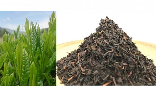 [№5677-0082]天龍村産 信州若蒸し茶 一番茶 / 南信州産 信州和紅茶 リーフ