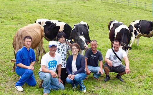 365日牛と向き合い、守り続ける農場スタッフ
