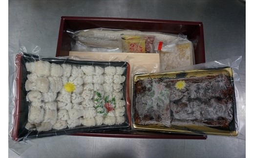 B0030-14:瀬戸内鱧食べ比べセット(目安4-5人前)