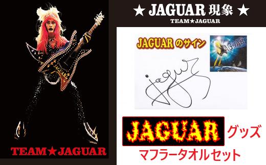 【12203-0032】JAGUAR マフラータオルセット