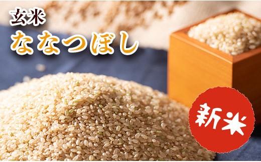 [J-03]「ななつぼし」玄米 30kg【令和元年産】