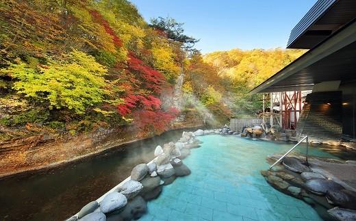 志戸平温泉 湯の杜ホテル志戸平ペア宿泊券 【186】