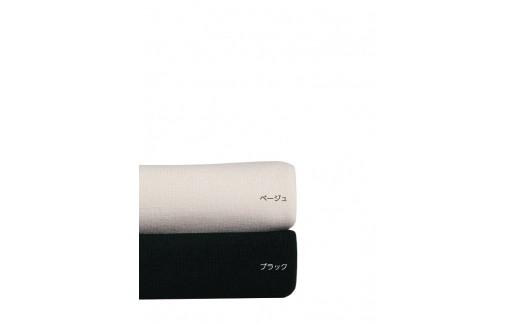 ブラック・ベージュの全2色各6サイズ