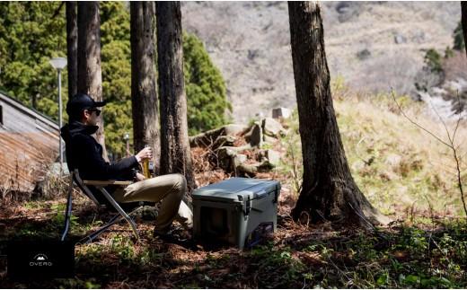 キャンプ アウトドアドベルグ×アイスランド クーラーボックス 45QT キャンプ 【先行予約】 [K-8051]