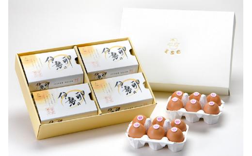 22-B 伊勢の卵 赤玉ギフト(6個×4パック)