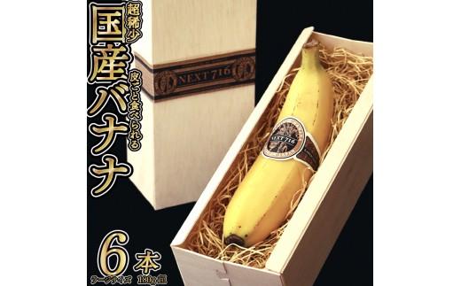 H580107テレビで話題のバナナ!NEXT716「6本入り」(ラージ)7月発送分