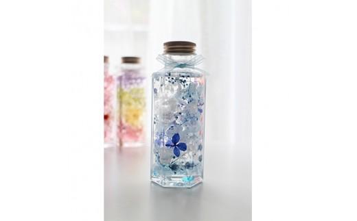 六角ボトルハーバリウム 1本(ブルー系)【1079767】