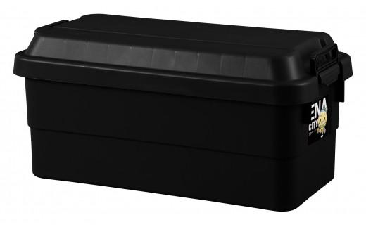 アウトドア 収納ケース ブラック Lサイズ1個