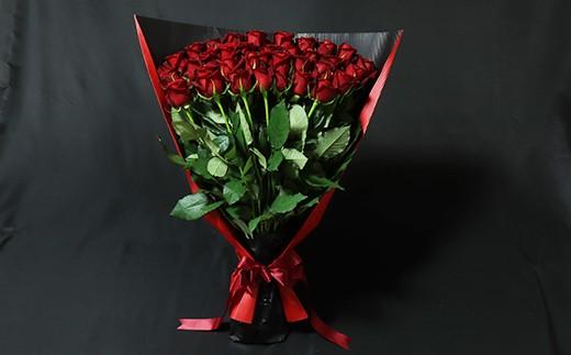 C-024 【産地直送】バラの花束 赤色のみ 36本 60cm以上の薔薇を厳選(ギフト用) 【チョイス】