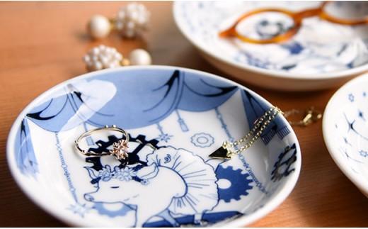 QA71 【波佐見焼】natural69 豆皿 5枚セット(ナマケモノ/ペンギン/ハリネズミ/シロクマ/ブタ)-6