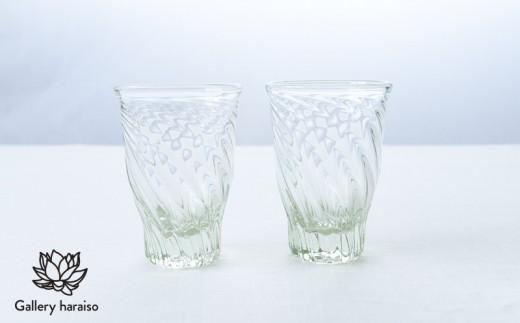 【琉球ガラス】レデューサーグラス・ペア【クリア】