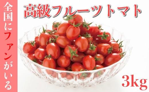 AA001全国にファンがいる高級フルーツトマト どっさり!アイコ3㎏