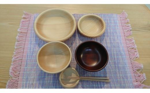 大野木工保育食器セット