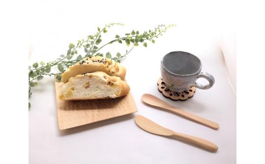 EB-④ 朝からヒノキを感じて…朝食セット