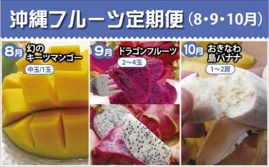 沖縄フルーツ定期便(8・9・10月コース)