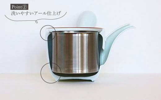 YB05 【波佐見焼】モダン和急須(中)【とう器ハウス】-5