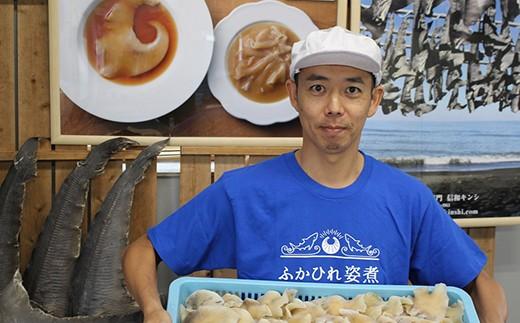 信和キンシのフカヒレは国内で獲れたサメで製造しています