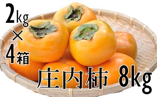 庄内柿 元祖種無し渋抜き 約8kg