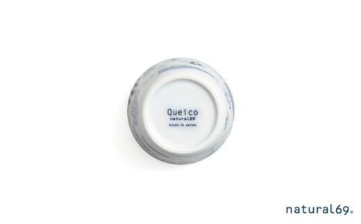 QA80 【波佐見焼】natural69 cocomarineカップ 4個セット(魚の群れ/大型生物)各2個ずつ-3