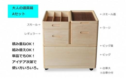 [№5809-3727]大人の道具箱 Aセット