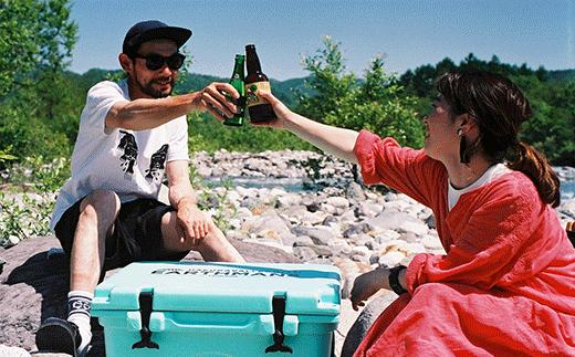 HAKUBA VALLEY OTARI オリジナルクーラーボックス(アイスブルー)
