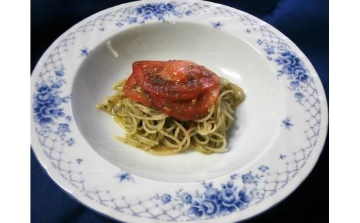 2.トマトとバジルのカッペリーニ