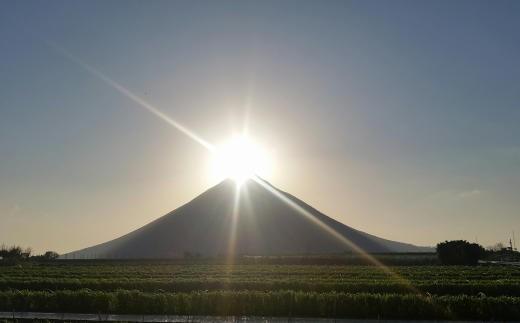 """別名「薩摩富士」と呼ばれる開聞岳! """"ダイヤモンド薩摩富士"""""""