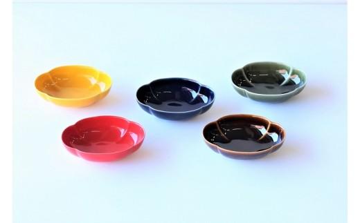【地場】う-508 木甲小鉢 5色セット