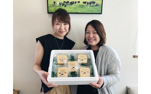 左がアイシングクッキー担当の野田さん、右がミルクアイス担当の菊地さんです。