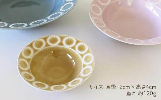 VA39 【波佐見焼】サークルリング ボウル小 3色セット【陶芸ゆたか】-4