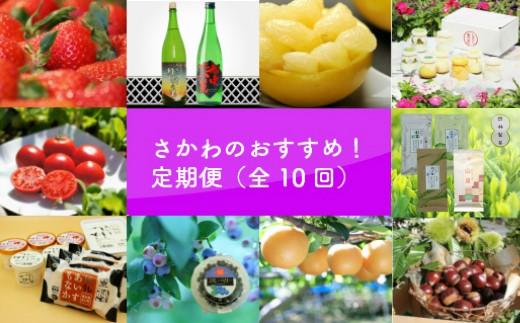 J-2.佐川のおすすめ!定期便(全10回)