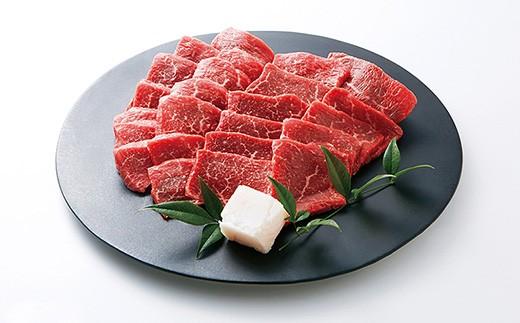 世界の舌を魅了し続ける「神戸ビーフ」の素牛、「黒田庄和牛」の焼肉用モモ肉300gです。