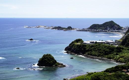 「新日本百景」の1つ鴨川松島