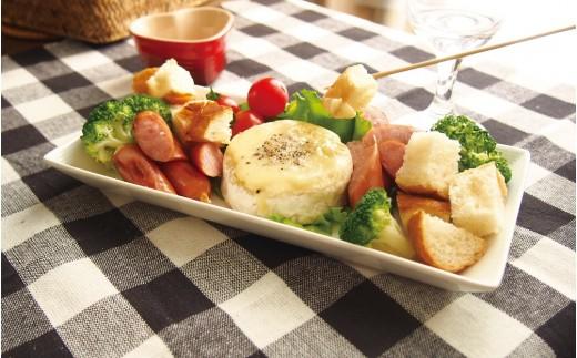 カマンベールチーズを使った料理イメージ