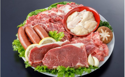 【純国産】馬肉専門店だからできる 豪華馬焼肉セット