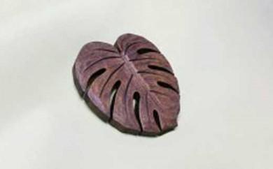 鎌倉彫(講習&体験) モンステラを彫って塗ってみる