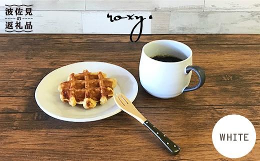 SB15 【波佐見焼】cocoaホワイト マグカップ&プレートセット【ROXY】-1