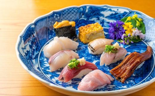 【食事券】北上市の名店 菊寿し 感謝を込めて 寿司屋の御食事券A