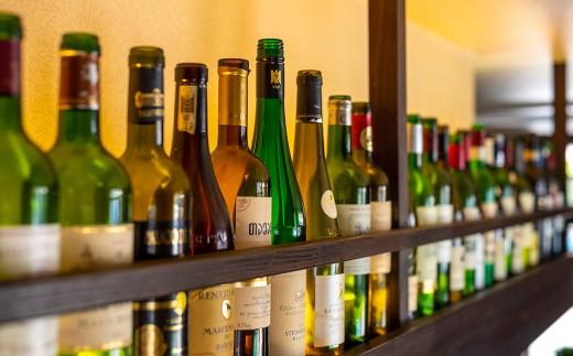 地元岩手の銘酒ほか豊富な洋酒のラインナップも魅力です。
