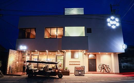 【030-029】ゲストハウス「tu.ne.Hotel」宿泊券(1名様)&オリジナルTシャツ