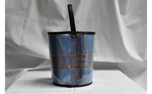 PAGOT初の着せ替え可能なビニールバッグ♪夏だけではなく、年中使っていただける仕様になっています。※写真はAの播州織です。