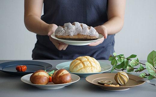 RA47 【波佐見焼】DAILY MAT シリーズ パン皿 5枚セット【永峰製磁】-2