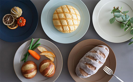 RA47 【波佐見焼】DAILY MAT シリーズ パン皿 5枚セット【永峰製磁】-3