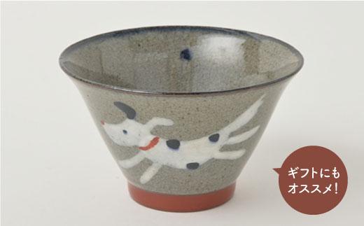 PA95 【波佐見焼】いぬ お茶ワン&そばちょこセット【福田陶器店】-3