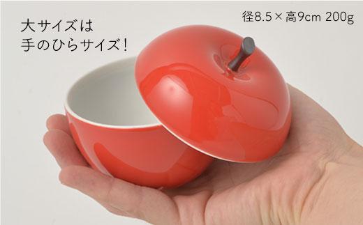 PA94 【波佐見焼】りんごファミリー キャニスターセット【福田陶器店】-3